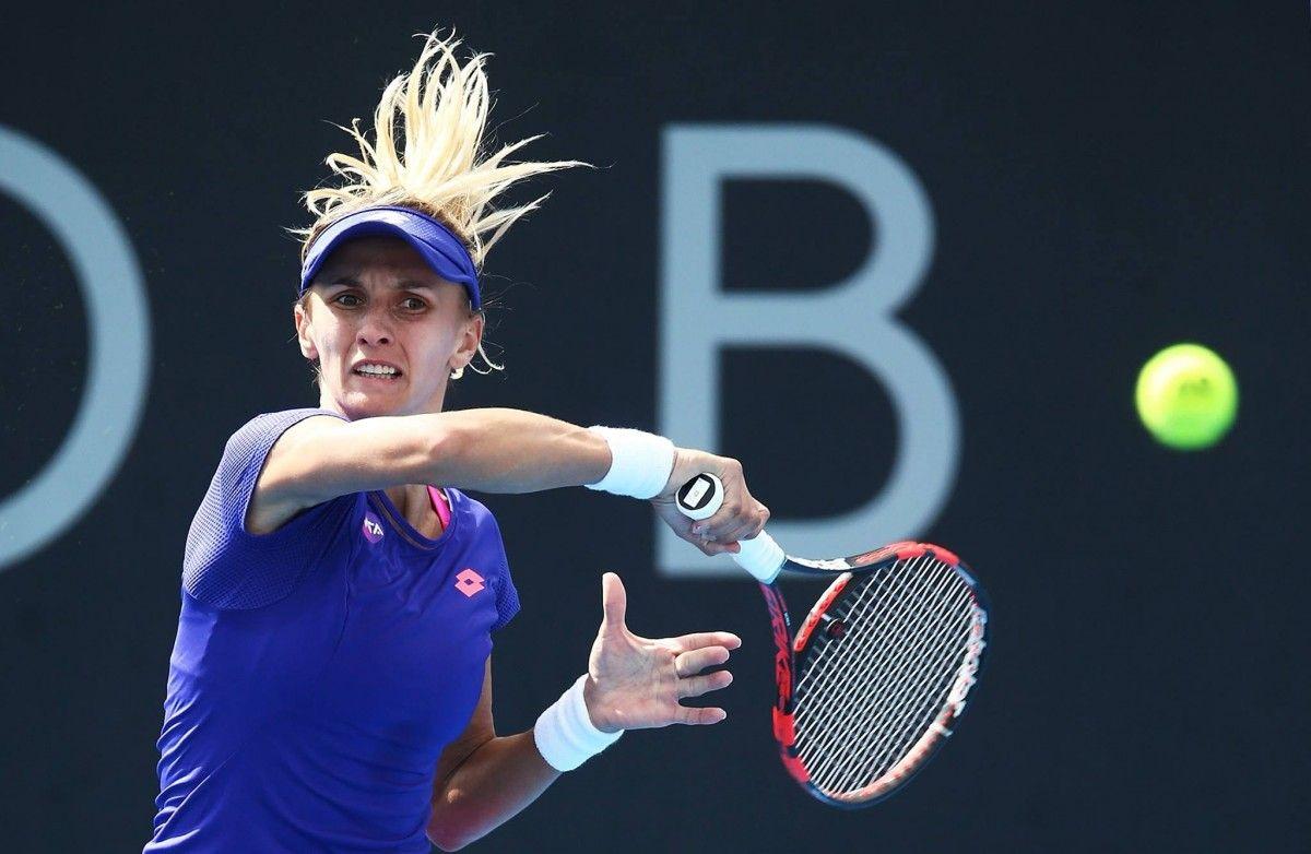 Леся Цуренко пробилась в четвертьфинал турнира в Бирмингеме / facebook.com/HobartTennis