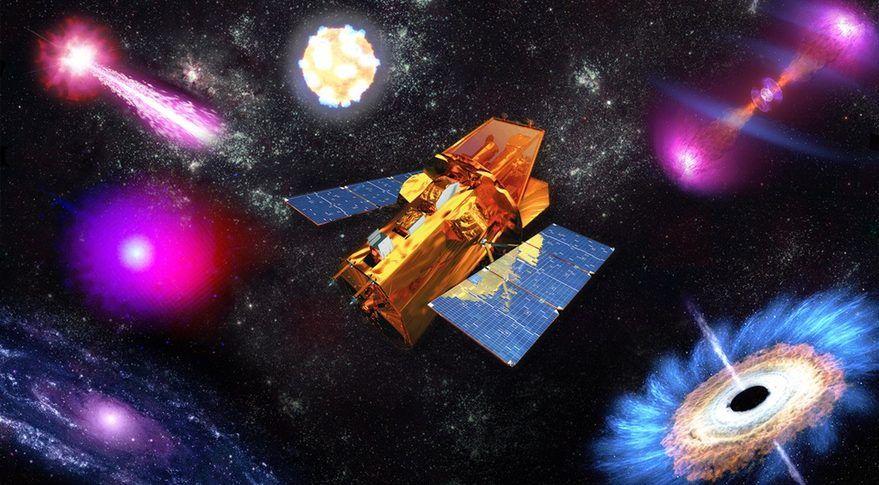 Обсерваторія Swift була запущена в 2004 році / фото NASA