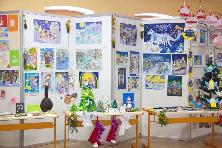 На выставке было представлено более 600 работ