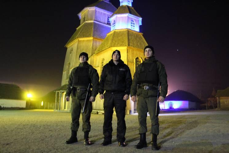 Нацгвардия охраняет историко-культурный комплекс