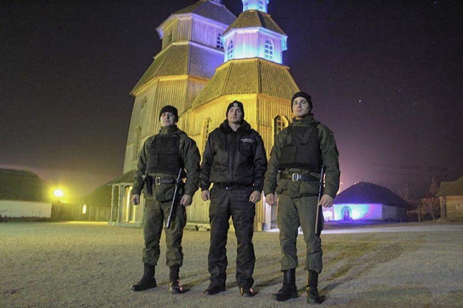 Запорожская Сечь под надежной охраной Национальной гвардии Украины / ngu.gov.ua