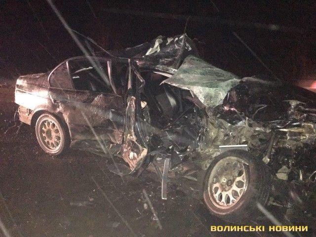 В результате ДТП погибли два человека / фото volynnews.com