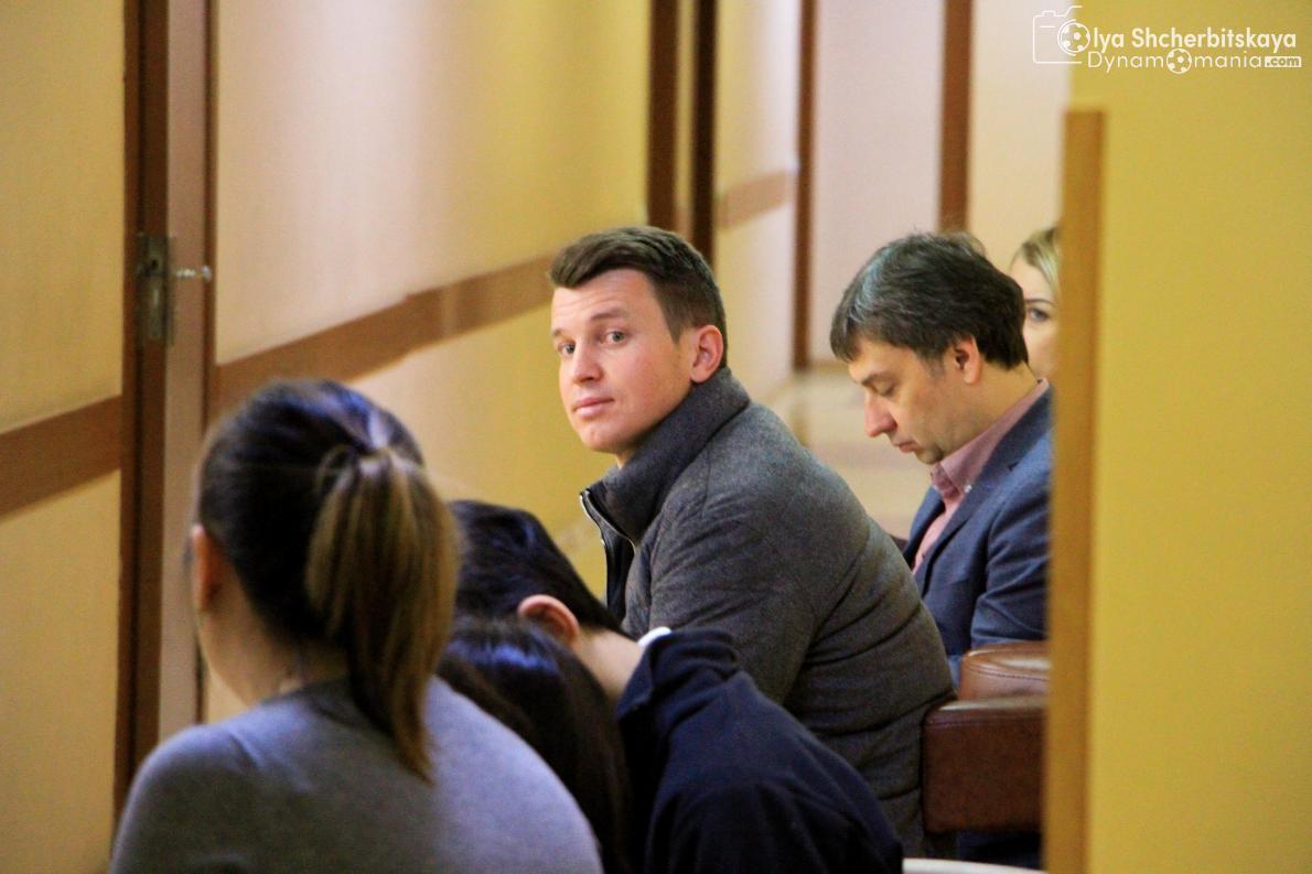Руслан Ротань проходит плановый медосмотр вместе с игроками