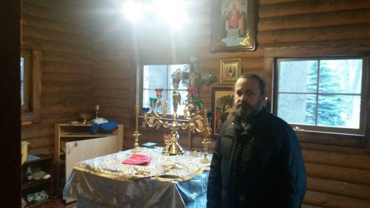 Осквернен и ограблен храм в Святошинском благочинные Киева / mitropolia.kiev.ua