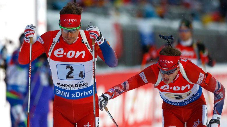 Победа в эстафете досталась сборной Норвегии / The Associated Press