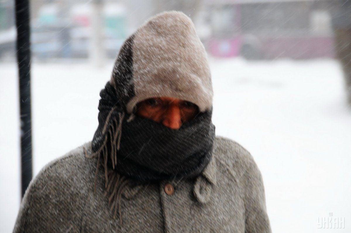 Україну скують морози / фото УНІАН