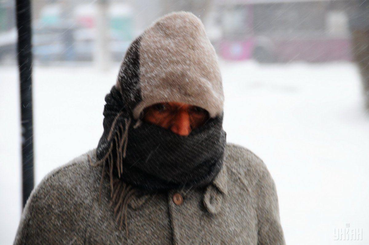 Завтра ожидаются снегопады, ветер, мокрый снег / фото УНИАН