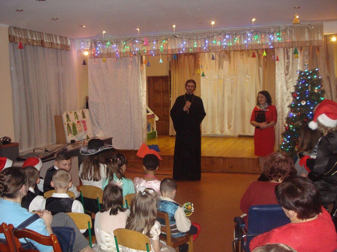 Клирик Оболонского благочиния посетил Центр социально-психологической реабилитации детей / news.church.ua