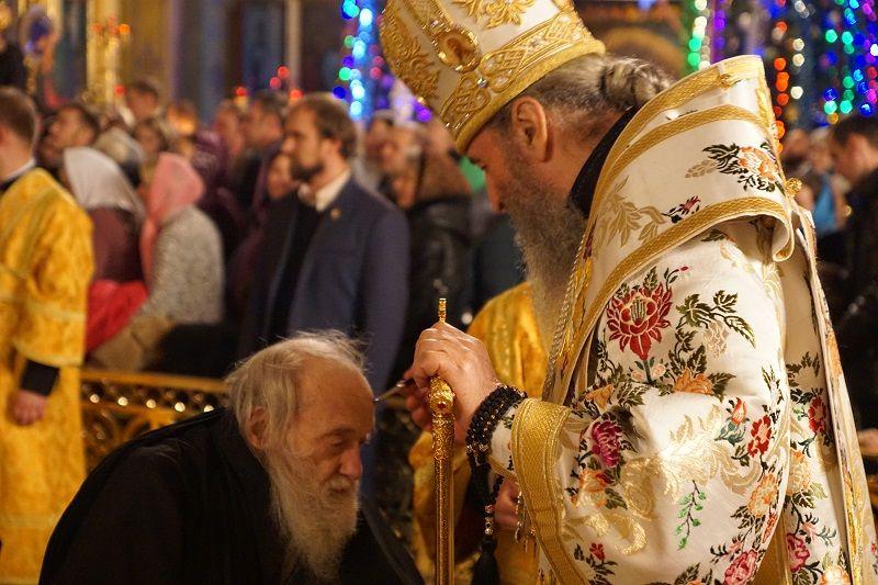 Блаженнейший возглавил праздничное вечернее богослужение / news.church.ua