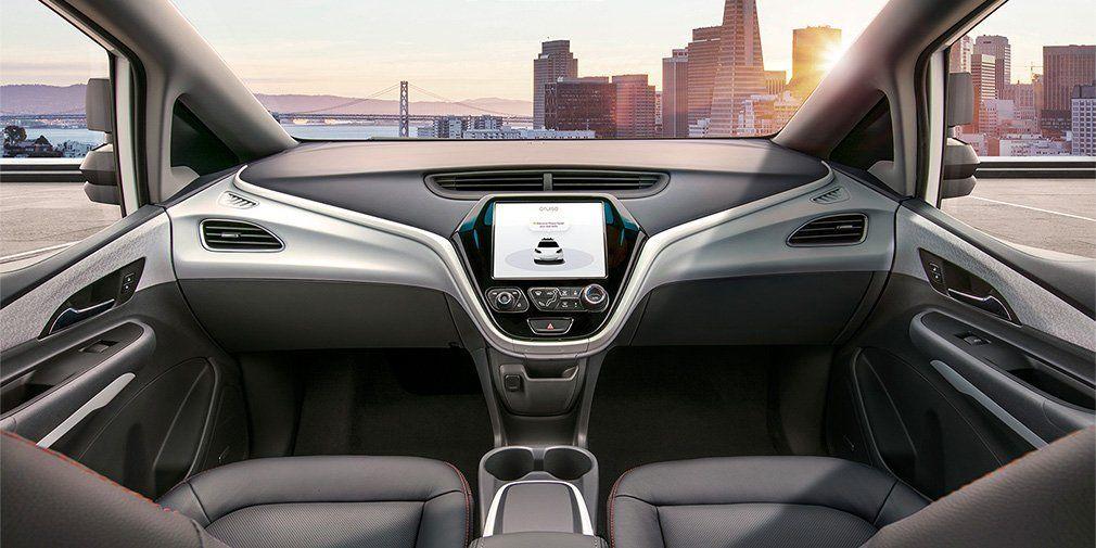 Інтер'єр автомобіля General Motors без зовнішніх органів управління / фото gm.com