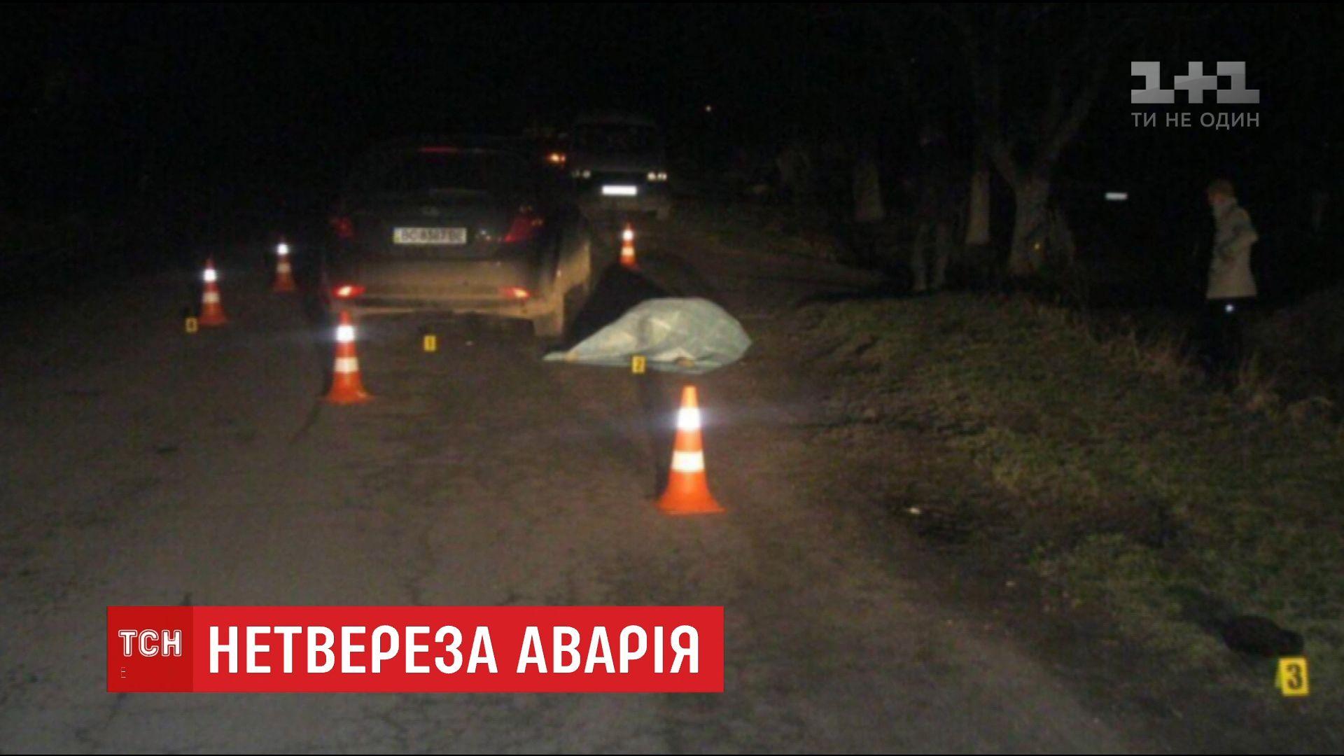 П'яний водій на Львівщині збив подружжя, коли їхав з місця першої ДТП