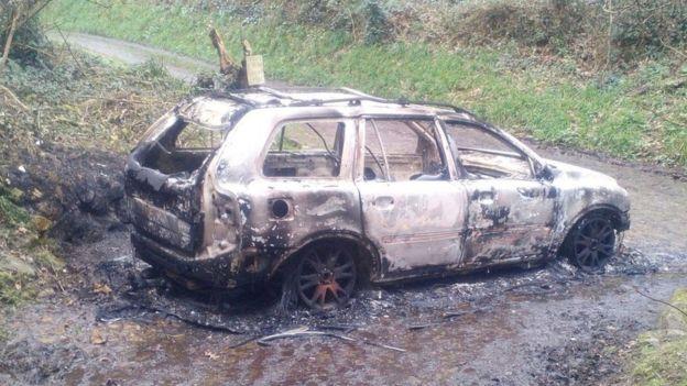 Мужчину сожгли заживо в автомобиле / фото COLIN DODD