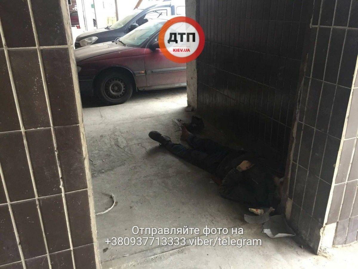 Чоловік не отримав медичної допомоги / facebook.com/dtp.kiev.ua