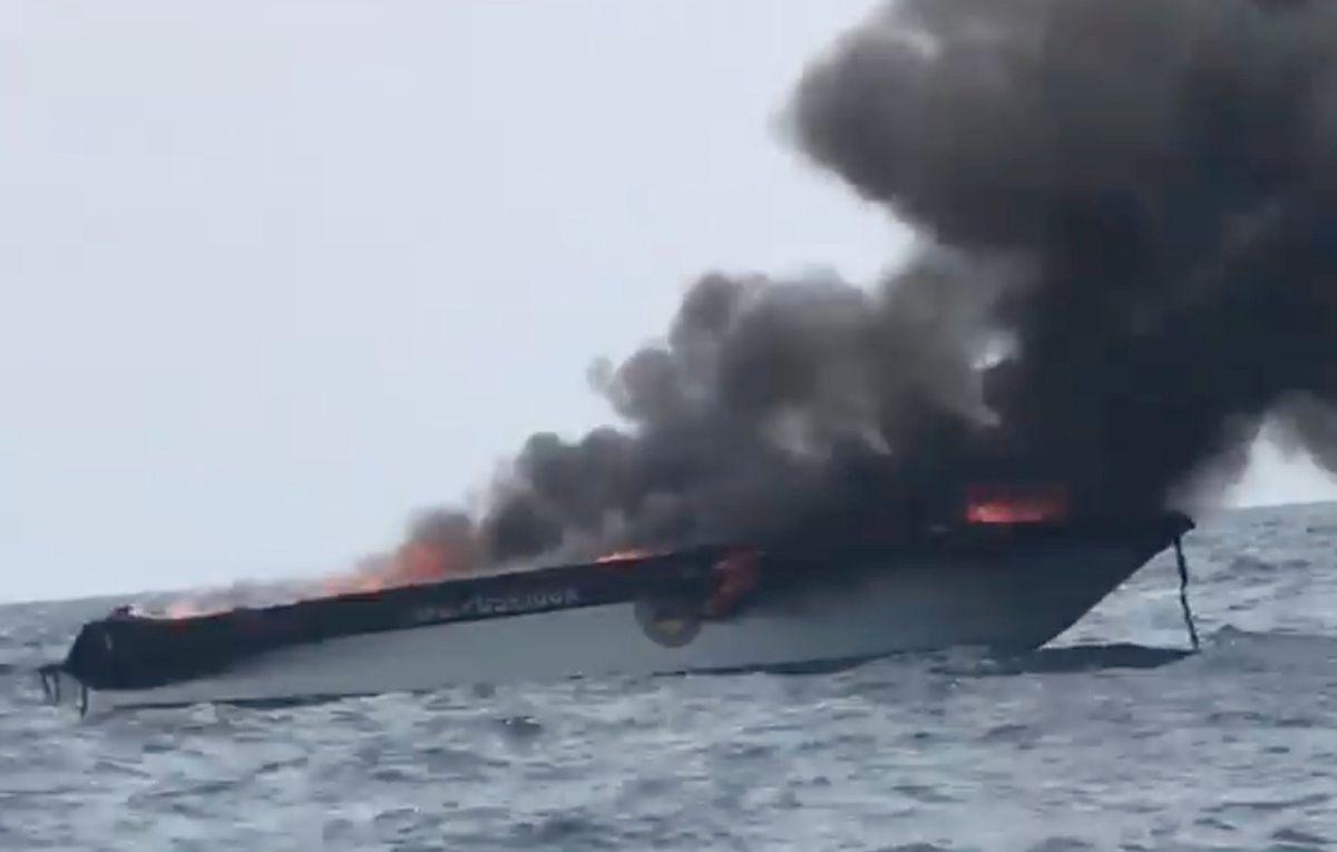 УТаїланді вибухнула човен зтуристами: багато постраждалих