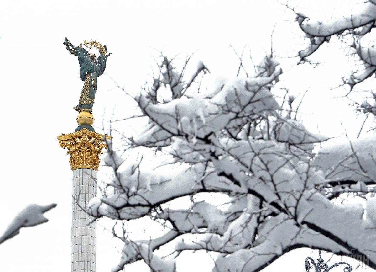 В Украине выпало до 23 сантиметров снега / фото УНИАН