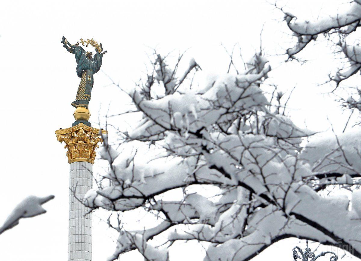 У столиці вдарять морози / фото УНІАН