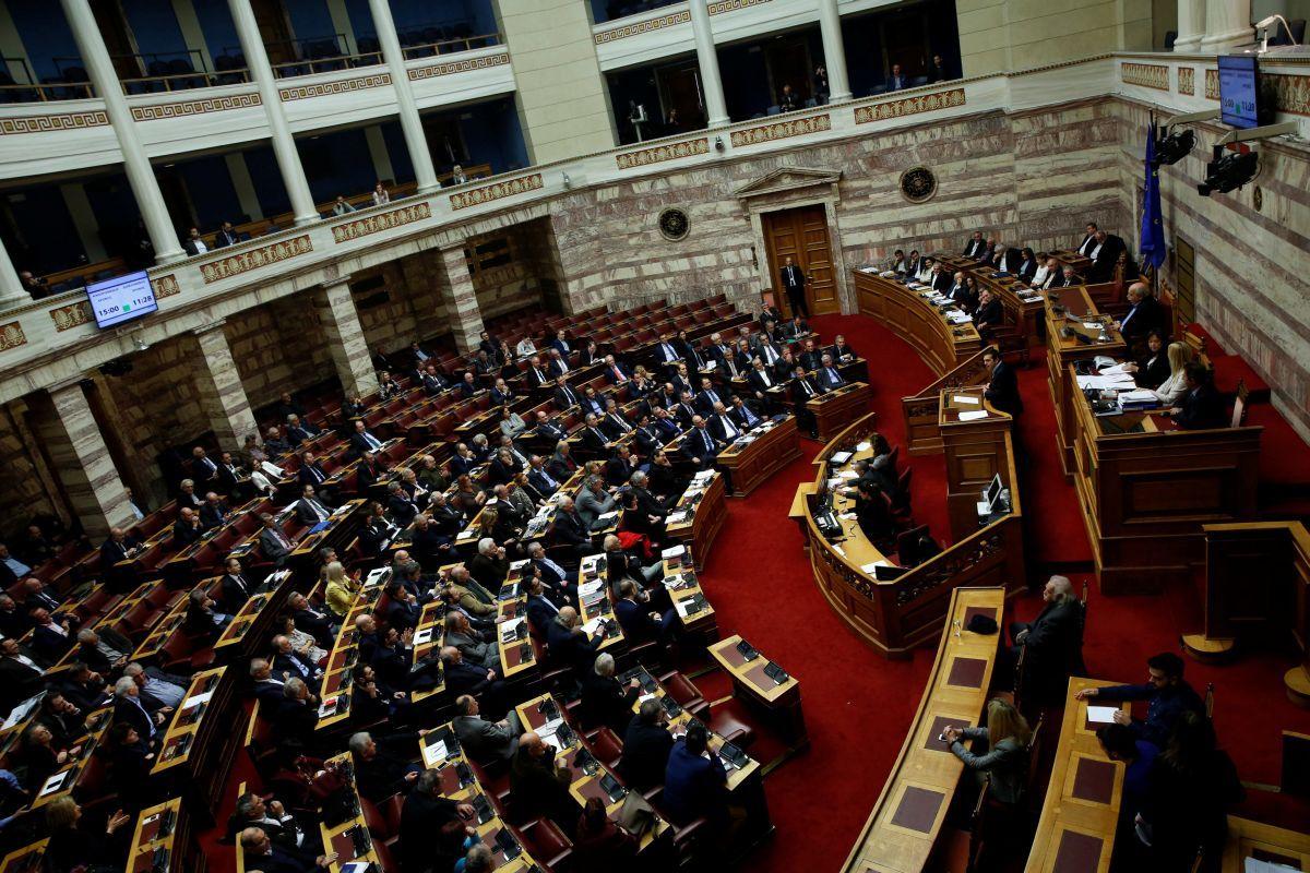 Парламент Греції / REUTERS