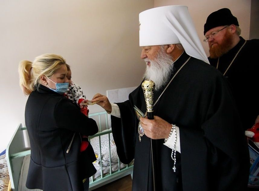 Митрополит Агафангел обратился к пастве по поводу вспышки кори / eparhiya.od.ua
