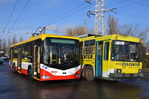 На Новый год общественный транспорт Одессы будет курсировать всю ночь / фото oget.od.ua