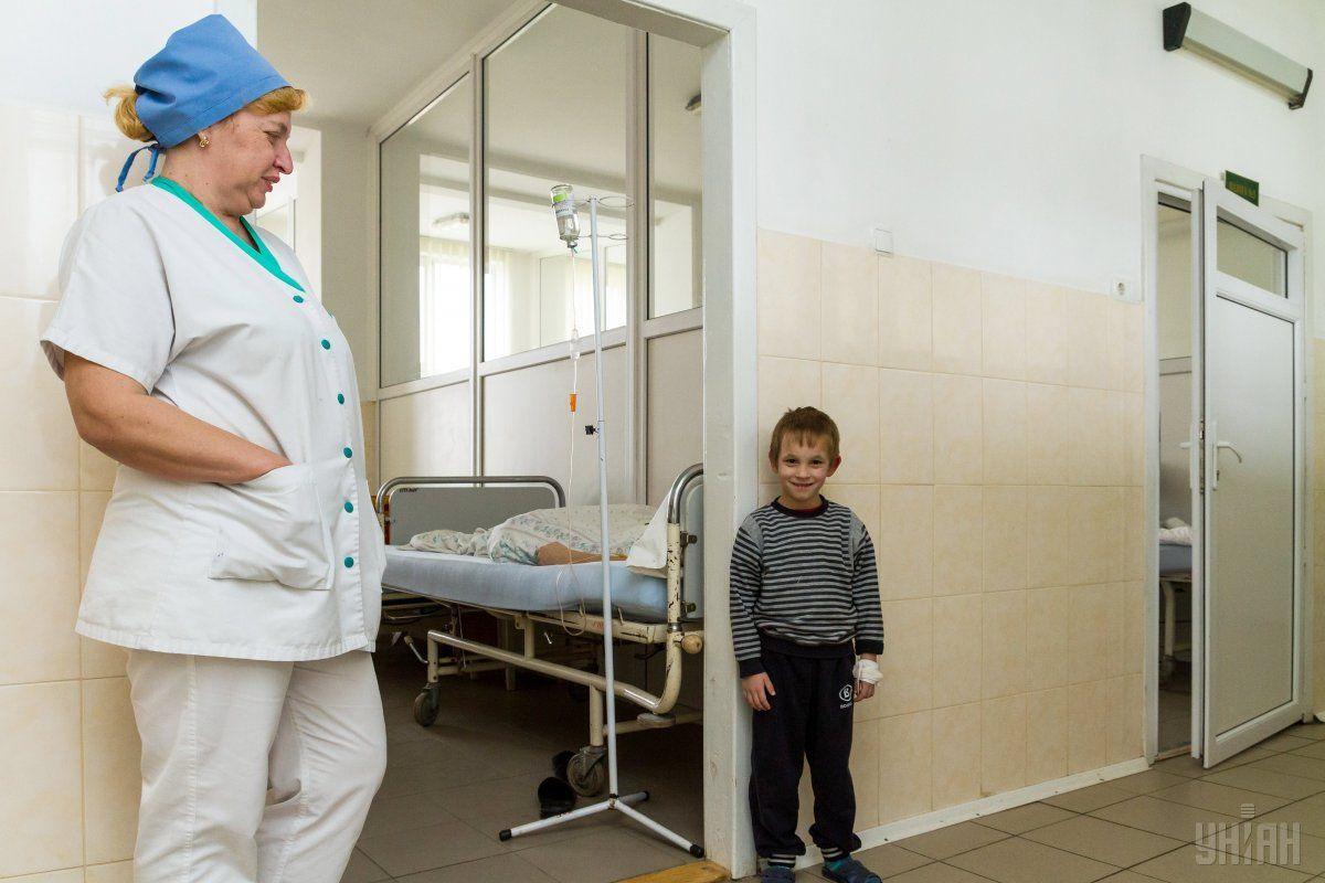 В структуре заболеваемости дети составляют 69,4% / УНИАН