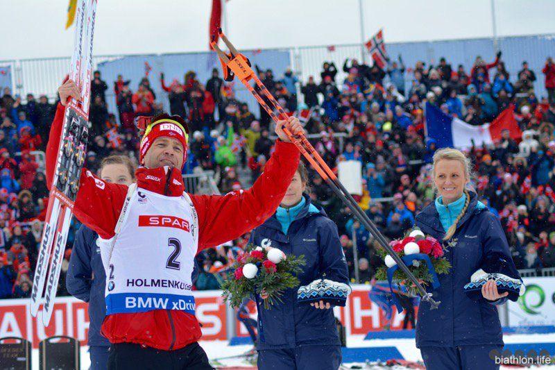 Бьерндален ще може поїхати на свою сьому Олімпіаду поспіль / twitter.com/ukrbiathlon