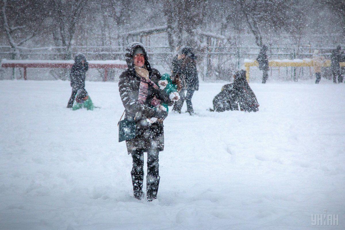 Одесу атакував і сніг, й злива / фото УНІАН