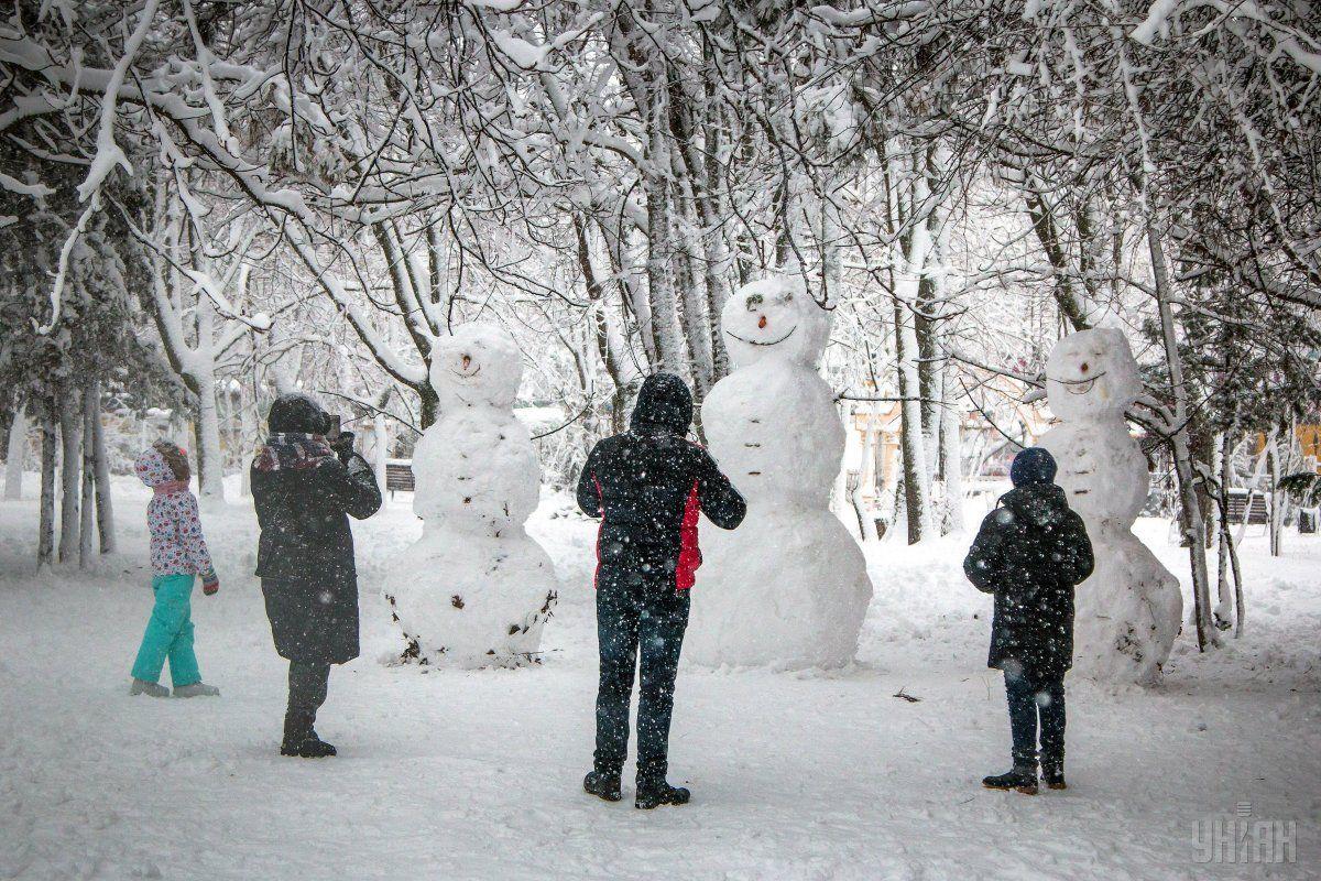 Одеську область накрив сильний снігопад / УНІАН