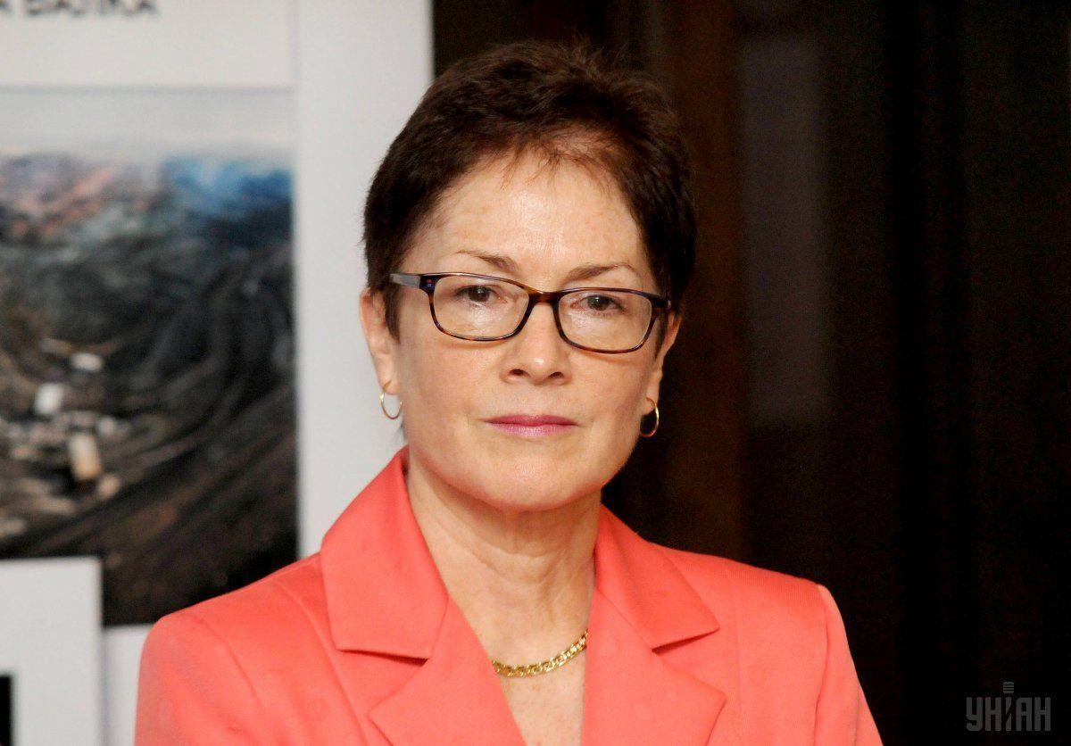 Former Ukraine ambassador Marie Yovanovitch / Photo from UNIAN