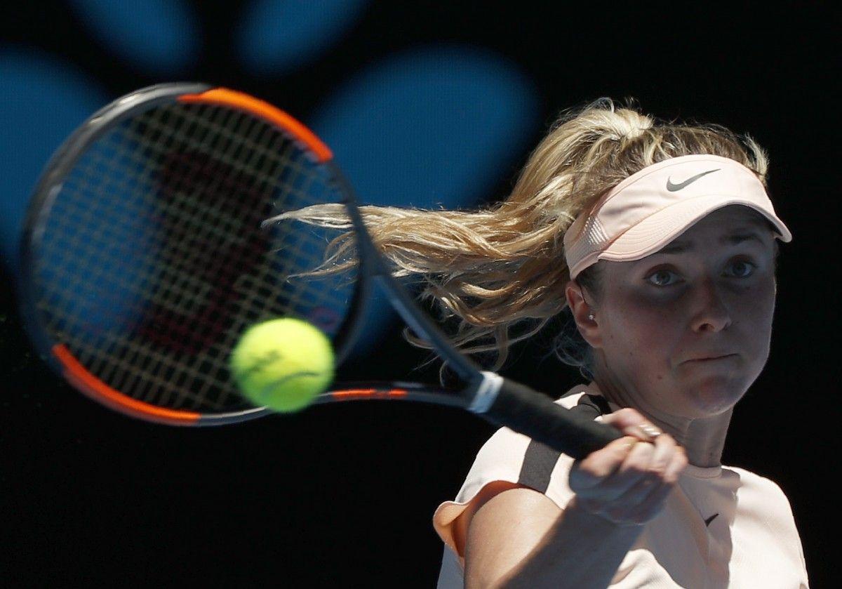Свитолина выиграла второй матч на нынешнем Открытом чемпионате Австралии / Reuters