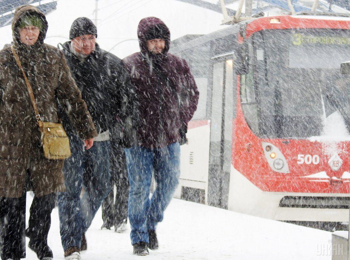 У Києві сьогодні пройде сніг / УНІАН