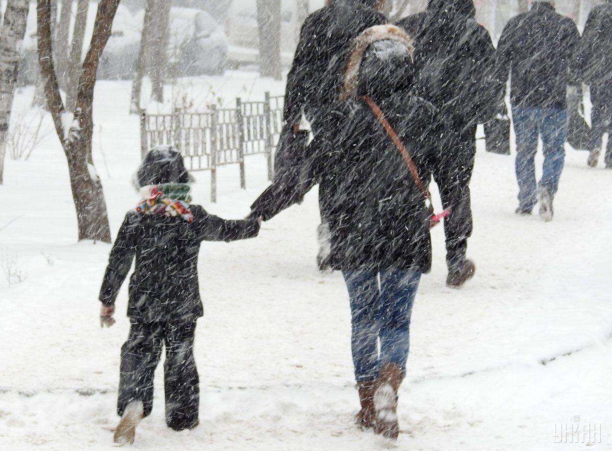 Завтра в Україні очікуються сильні опади / УНІАН