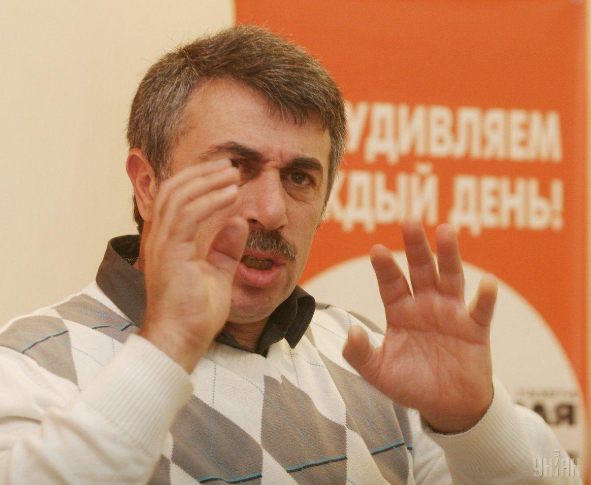 Евгений Комаровский / фото УНИАН