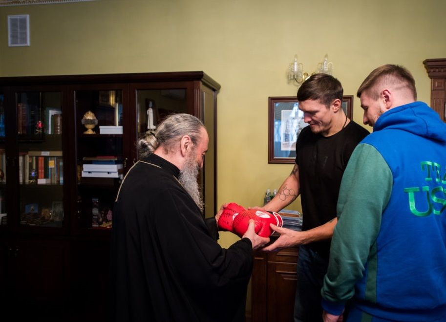 Блаженнейший Митрополит Онуфрий встретился с Александром Усиком / news.church.ua