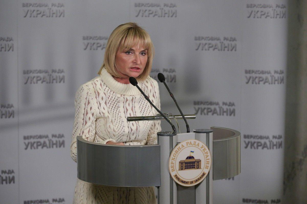 Ирина Луценко отмечает, что денонсация договоров в рамках СНГ не должно коснуться некоторых вопросов / фото пресс-службы Ирины Луценко