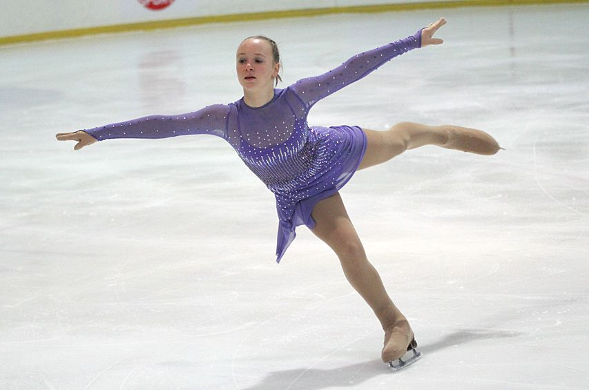 Українська фігуристка посіла 13-е місце в короткій програмі / dpchas.com.ua