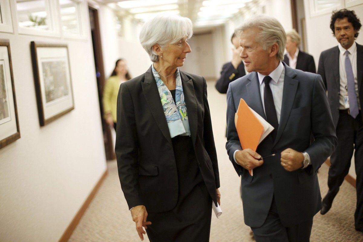 МВФ очікує коригування законопроекту про Антикорупційний суд і пенсійної реформи
