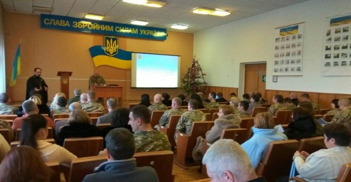 Протоієреї також регулярно відвідують зону АТО / orthodox.vinnica.ua