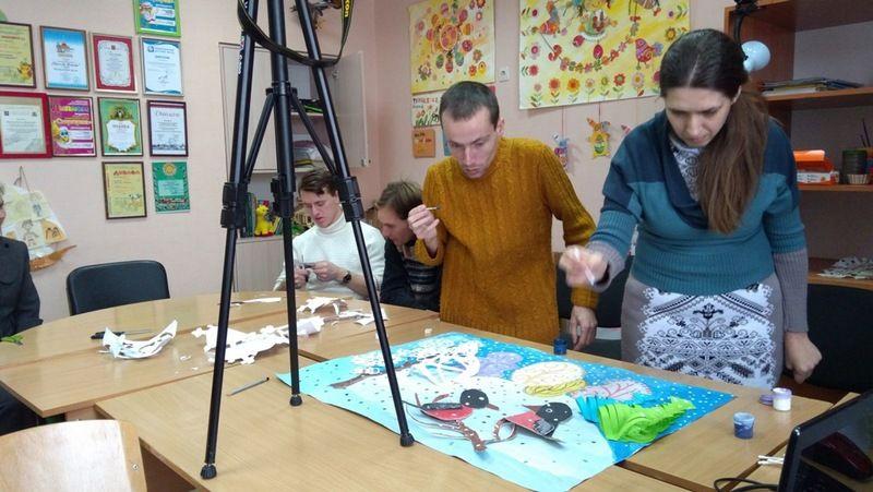 В процессе создания мультфильма раскрывается творческий потенциал / sinod-molodost.in.ua