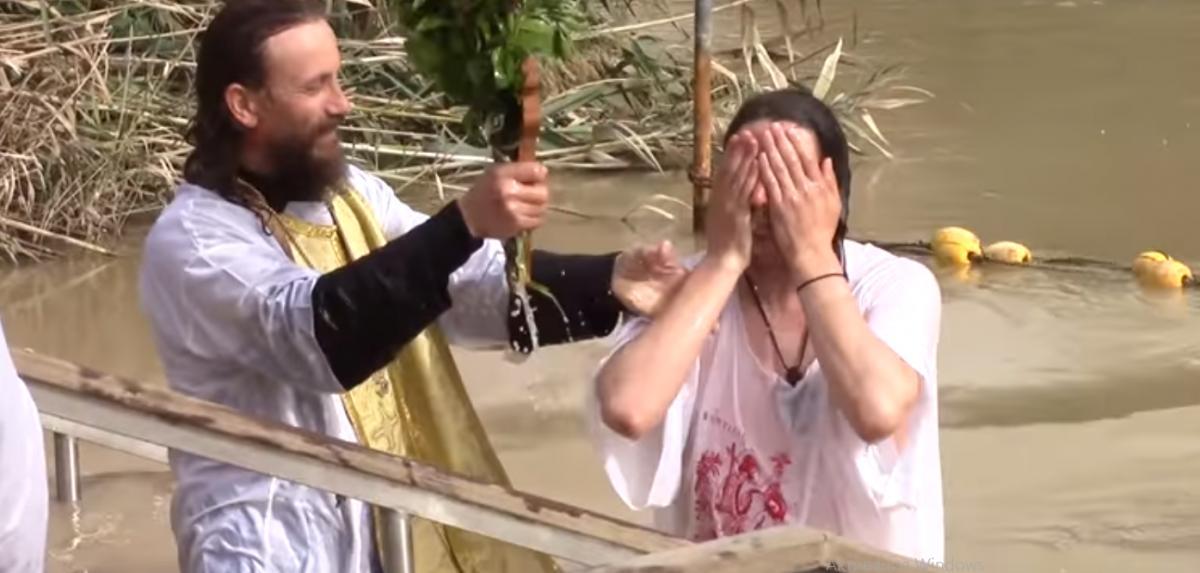 В реке Иордан крестился сам Господь / youtube.com