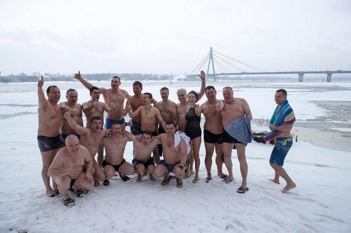 Мер столиці привітав усіх із Водохрещем / фото klichko.org