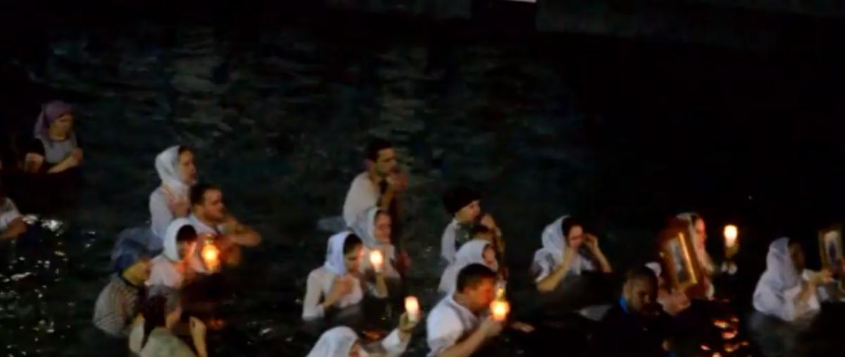 Целебный источник является главным объектом паломничества волынян на Крещение / youtube.com