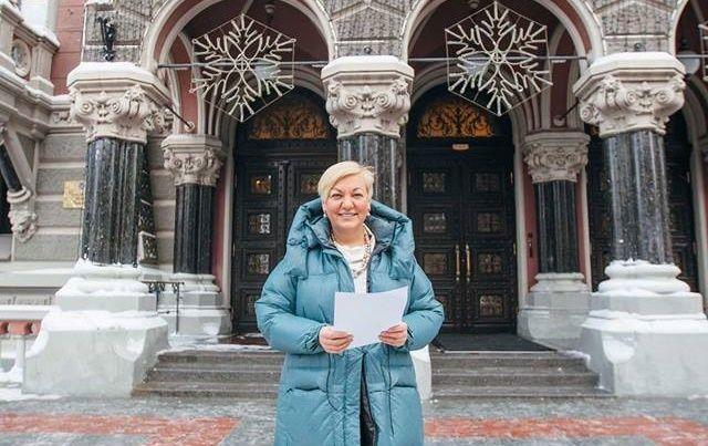 Гонтарєва знаходиться в Києві і готова відзвітувати перед Радою / фото facebook/NationalBankOfUkraine