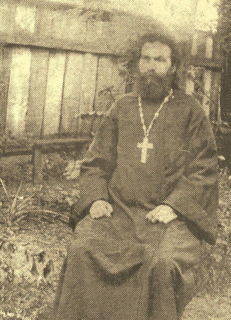 Протоиерей Иоанн Русанович. Бровары, 1918 г. / pravoslavie.ru