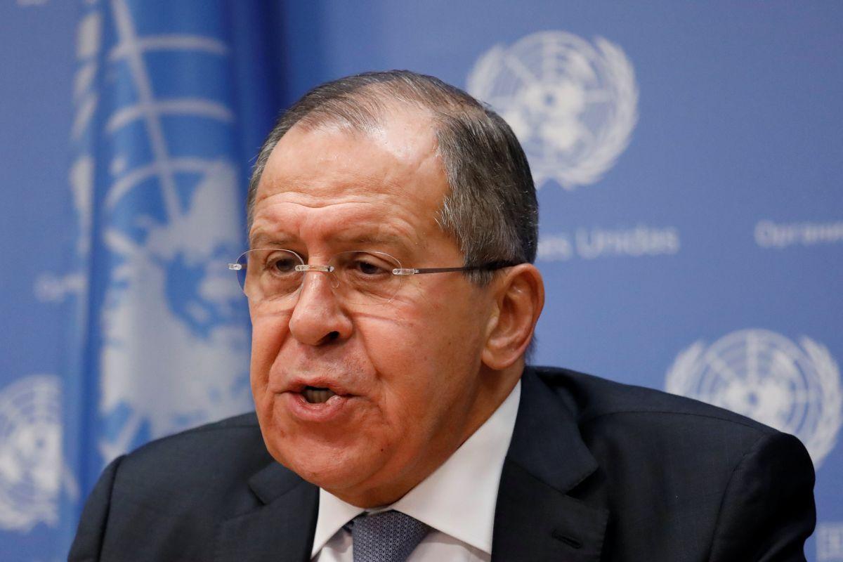 Глава МИД России Сергей Лавров / REUTERS