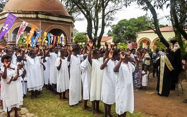 За два дні були хрещені 556 катехуменів / orthochristian.com