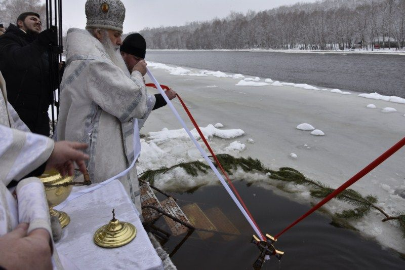 Освящение вод в Чернигове / news.church.ua