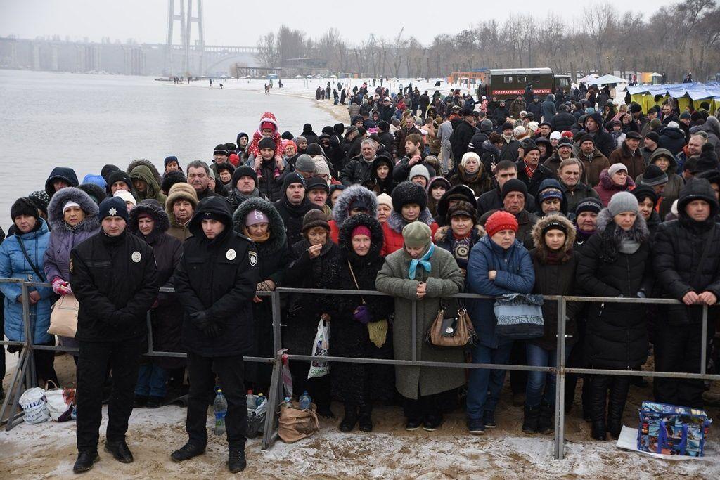 Освящение вод в Запорожье / news.church.ua