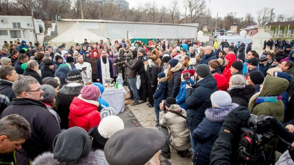 Освящение вод в Одессе / news.church.ua