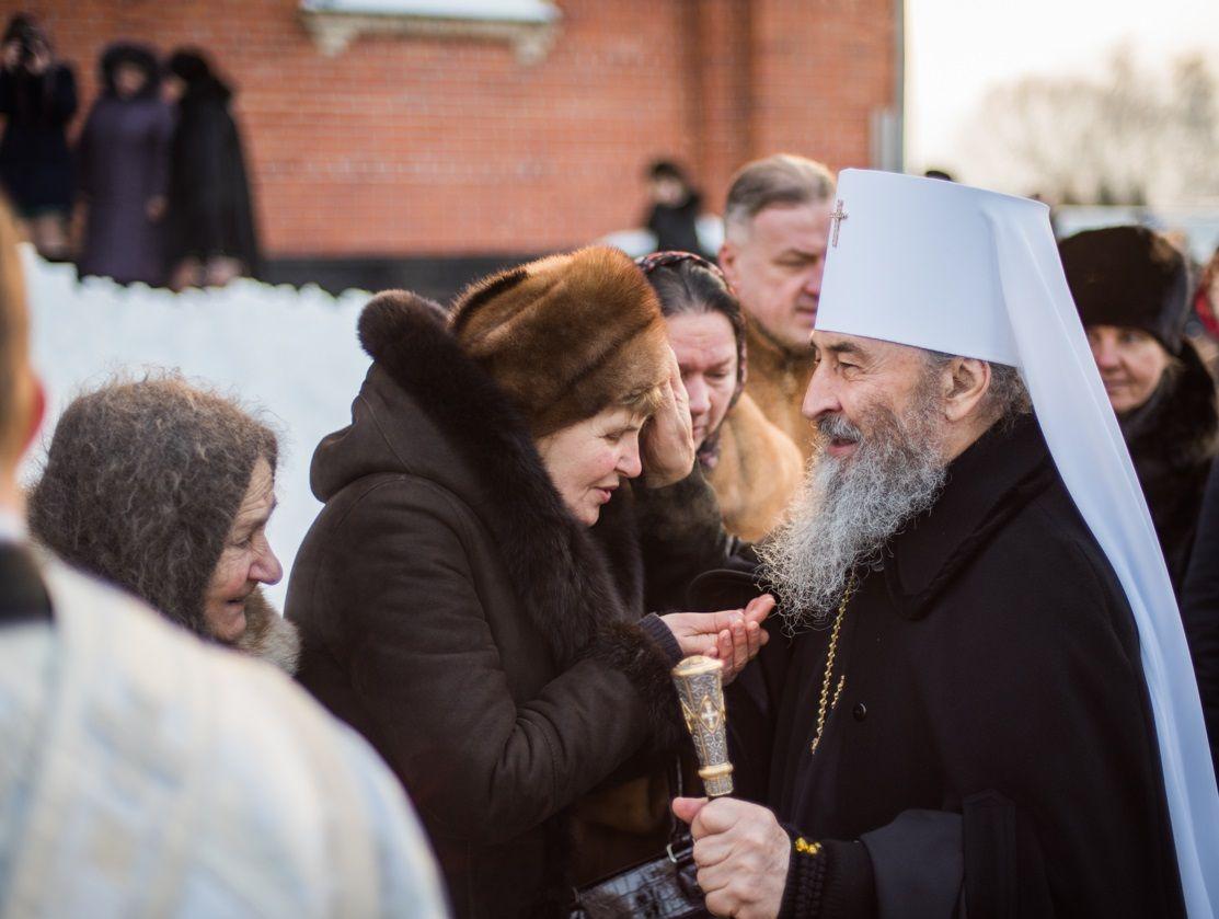 За богослужінням була піднесена молитва про мир в Україні / news.church.ua