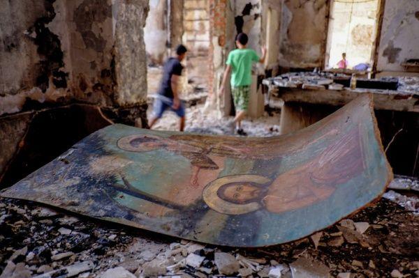 Разрушенный боевиками храм в Ираке / islam-today.ru
